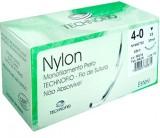 Fio Cirúrgico - Technofio - Nylon Preto - Fio de Sutura - 24 unidades