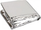 Cobertor Manta Térmica - ResgateSP - Aluminizada