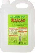 Álcool Líquido Etílico - Luar Magico - Bactericida - 70% - 5L