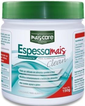 Espessante - Mais Care - Espessa Mais Clean 150g para Alimentos Líquidos - O Translucido