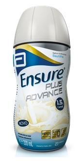 Suplemento - Abbott - Ensure Plus Advance  Baunilha 220ml