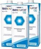 Dieta Enteral - Nestlé - Isosource 1.5 - Sem Sacarose - 1 Litro - Kit 12 unidades