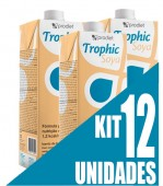 Dieta Enteral - Prodiet - Trophic Soya - 1 Litro - Kit 12 unidades