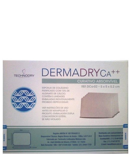 a5e0b4806 Curativo Dermadry CA++ - Technodry - Esponja de Colágeno com Alginato de  Cálcio. Loading zoom
