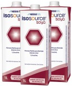 Dieta Enteral - Nestlé - Isosource Soya 1 Litro - Kit 12 unidades