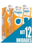 Dieta Enteral - Prodiet - Trophic 1.5 1 Litro - Kit 12 unidades