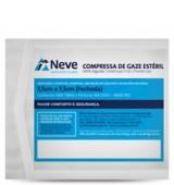 Curativo - Neve - Compressa de Gaze Estéril 7,5x7,5cm