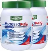 Espessante - Mais Care - Espessa Mais 400g para Alimentos Líquidos - Kit 2 unidades