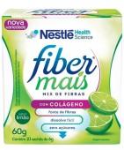 Fibra Alimentar  - Nestlé - Fiber Mais com Colágeno - 10 Sachês 6g