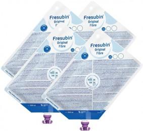 Dieta Enteral - Fresenius - Fresubin Original Fibre - Sistema Fechado - Kit 8 unidades