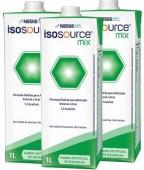 Dieta Enteral - Nestlé - Isosource Mix - 1Litro - Kit 12 unidades