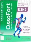 Suplemento Alimentar - BPB - OssoFort - Cálcio em Vitamina D - 30 comprimidos