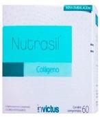 Colágeno Hidrolisado - Invictus - Nutrasil - 60 Comprimidos
