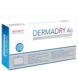 Curativo Dermadry AG - Technodry - Cobertura de Colágeno com Prata