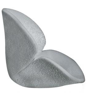 Curativo - Molnlycke - Mepilex Heel AG - Espuma de Silicone para Calcanhar - 5 unidades