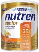 Suplemento - Nestlé - Nutren Senior - Zero Lactose - Sem Sabor 740g