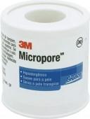 Fita Micropore - 3M - Hipoalergenica sem Latex