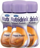 Suplemento - Danone - Nutridrink Compact Protein125ml - Kit 12 unidades