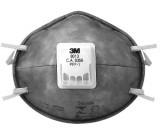 Respirador Descartável - 3M - Concha - com Válvula - PFF1 8013 - Cinza