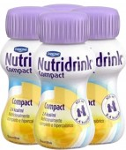 Suplemento - Danone - Nutridrink Compact 125ml - Kit 24 unidades