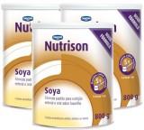 Dieta Enteral - Danone - Nutrison Soya 800g - Kit 3 Unidades