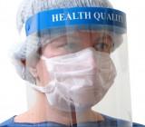 Protetor Facial Total - Healthy Quality - Plástico Transparente - Unidade