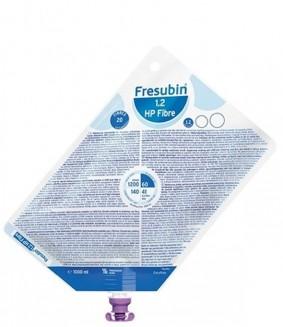 Dieta Enteral - Fresenius - Fresubin 1.2 HP fibre- Sistema Fechado - 1 Litro